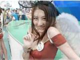 ChinaJoy2011深红网络《猎国》超性感美女ShowGirl-游戏