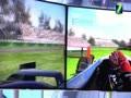 2015CES 海信三屏互联震撼游戏体验