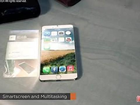 太科幻了,iphone6全息投影