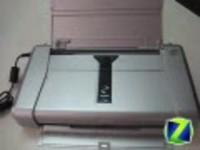 佳能iP100便携打印机打印头和墨盒安装