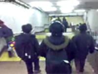 北京地铁国贸站带森海塞尔HD650耳机实拍
